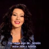 «Jade» habla de pelucas y Juliette Barnes
