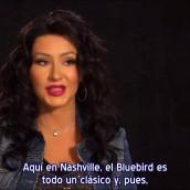 Christina sobre su interpretación en el Bluebird