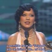 ¡Christina ganando su tercer Grammy!