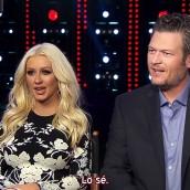 Christina y Blake más 1° vistazo a «The Voice 10»