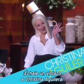 Adelanto de Christina en el Show de Ellen DeGeneres