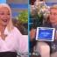 Xtina juega Heads Up! en entrevista completa con Ellen